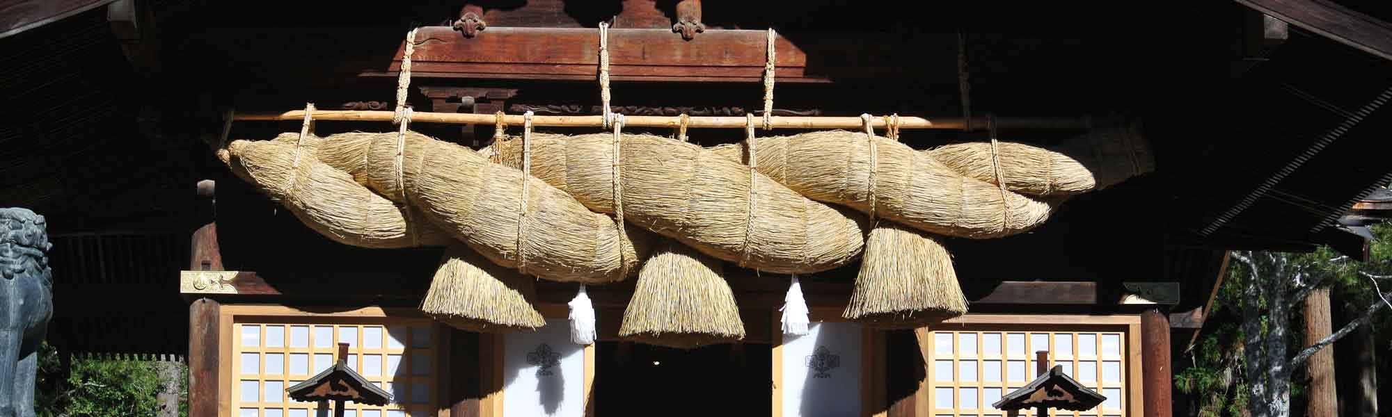 諏訪大社のひのき畳