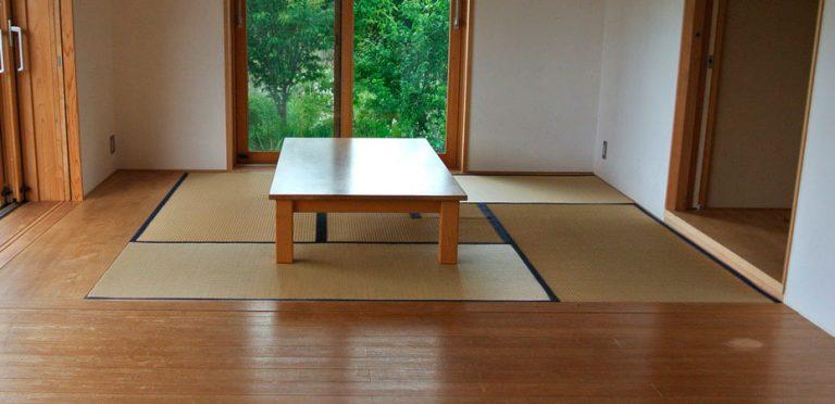 畳とフローリングの組み合わせ